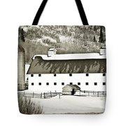 Winter Barn 2 Tote Bag