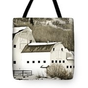 Winter Barn 4 Tote Bag