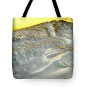 Winter Cape Cod Sunset Tote Bag