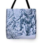 Winter Coat Tote Bag