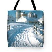 Winter, Ct Tote Bag