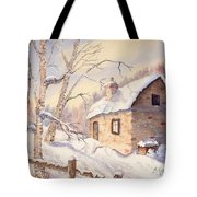 Winter Escape Tote Bag