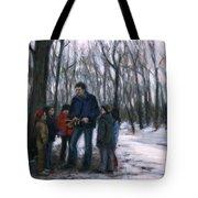 Winter Explorers Tote Bag