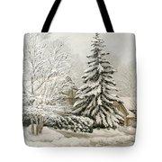 Winter Fairytale Tote Bag