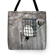 Winter Feeding Tote Bag