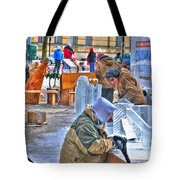 Winter Fest Artist Tote Bag