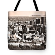Winter In The City ... Tote Bag