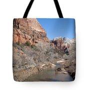 Winter In Zion 2 Tote Bag