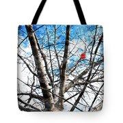 Winter Is Near Tote Bag