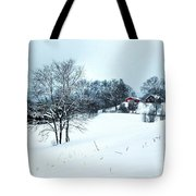 Winter Landscape 1 Tote Bag