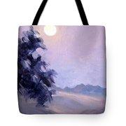 Winter Moonrise Tote Bag