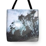Winter Roadside Tote Bag