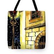 Winter Romance Tote Bag