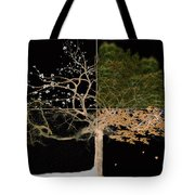 Winter Spring Summer And Fall Tote Bag