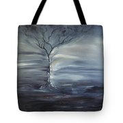 Winter Storm Tote Bag
