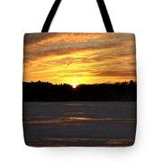 Winter Sunset II Tote Bag