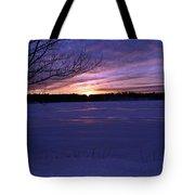 Winter Sunset IIi Tote Bag