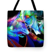 Winter-the Snow Queen Tote Bag