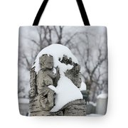 Winter Tombstone Tote Bag