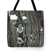 Winter Weary Tote Bag