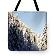 Winter Wonderland Austria Europe Tote Bag by Sabine Jacobs