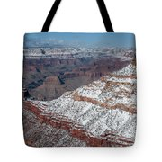 Winter's Touch At The Grand Canyon Tote Bag