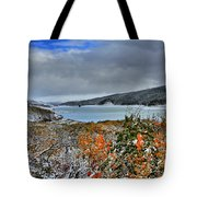 Wintry Dusting Tote Bag