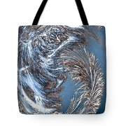 Wintry Pine Needles Tote Bag