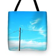 Wire Wrangler Tote Bag