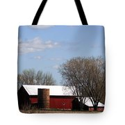 Wisconsin Farm Tote Bag