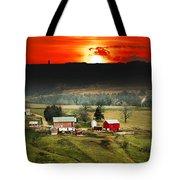 Wisconsin Farm Tote Bag
