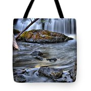 Wisconsin Waterfall Tote Bag
