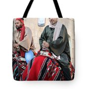Wisemen On Their Camels Tote Bag