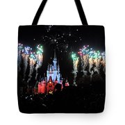 Wishes At The Magic Kingdom Tote Bag