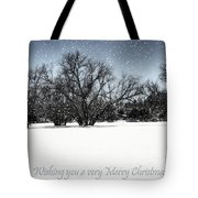 Wishing You A Very Merry Christmas Tote Bag