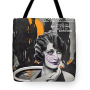 Wistful And Blue Tote Bag by Mel Thompson
