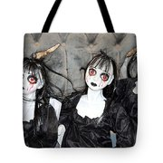 Witches Of Hallow's Eve Tote Bag