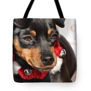 With Bells On Tote Bag