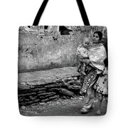 With Hands Held Tightly Tote Bag