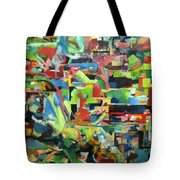 With Heavenly Assistance Tote Bag