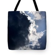 With Thunder He Speaks Tote Bag