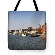 Wivenhoe Waterfront Panorama Tote Bag