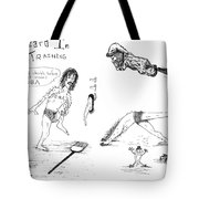 Wizard In Training- Stretching Tote Bag