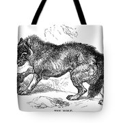 Wolf Attack Tote Bag