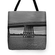 Wolf River Bridge Tote Bag