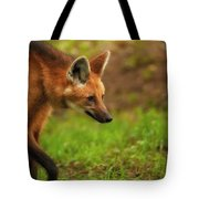 Wolf Strut Tote Bag