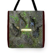 Wolf Track Tote Bag