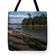 Wolfs Neck State Park Tote Bag