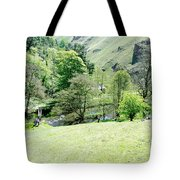 Wolfscote Dale From Gipsy Bank Tote Bag