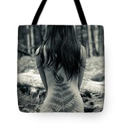 Woman Fern 2 Tote Bag